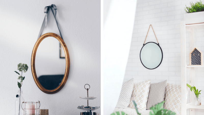 hanging wall mirrors featured image