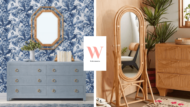rattan wall mirrors featured image