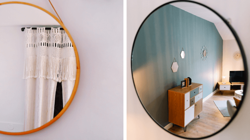 round wall mirrors featured image