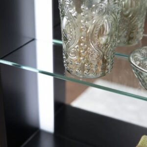 Tamworth Lighted Mirror with Shelf details