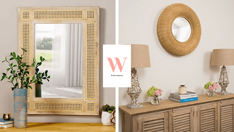best wicker wall mirrors collection featured image
