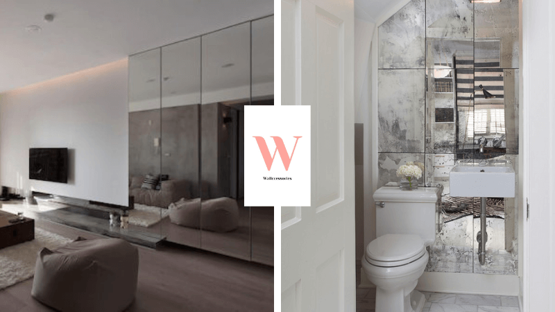 mirrored wall ideas featured image