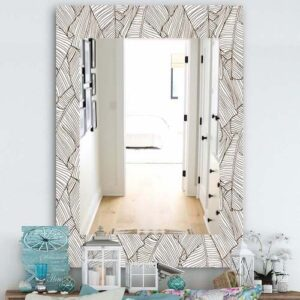 Designart-'Leaves-Of-Palm-Tree'-Bohemian-and-Eclectic-Mirror