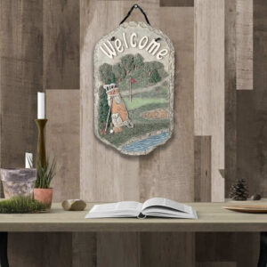 Golf Wall Sign Welcome Wall Decor
