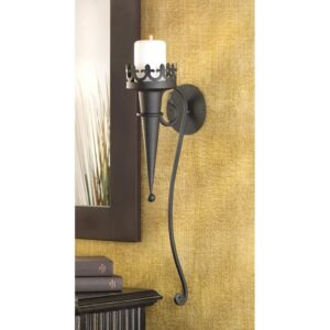Gothic Candle Wall Sconce