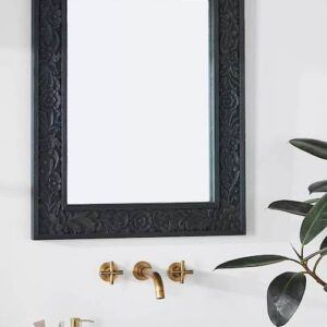 Handcarved Lombok Wall Mirror