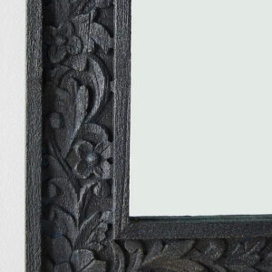 Handcarved Lombok Wall Mirror details