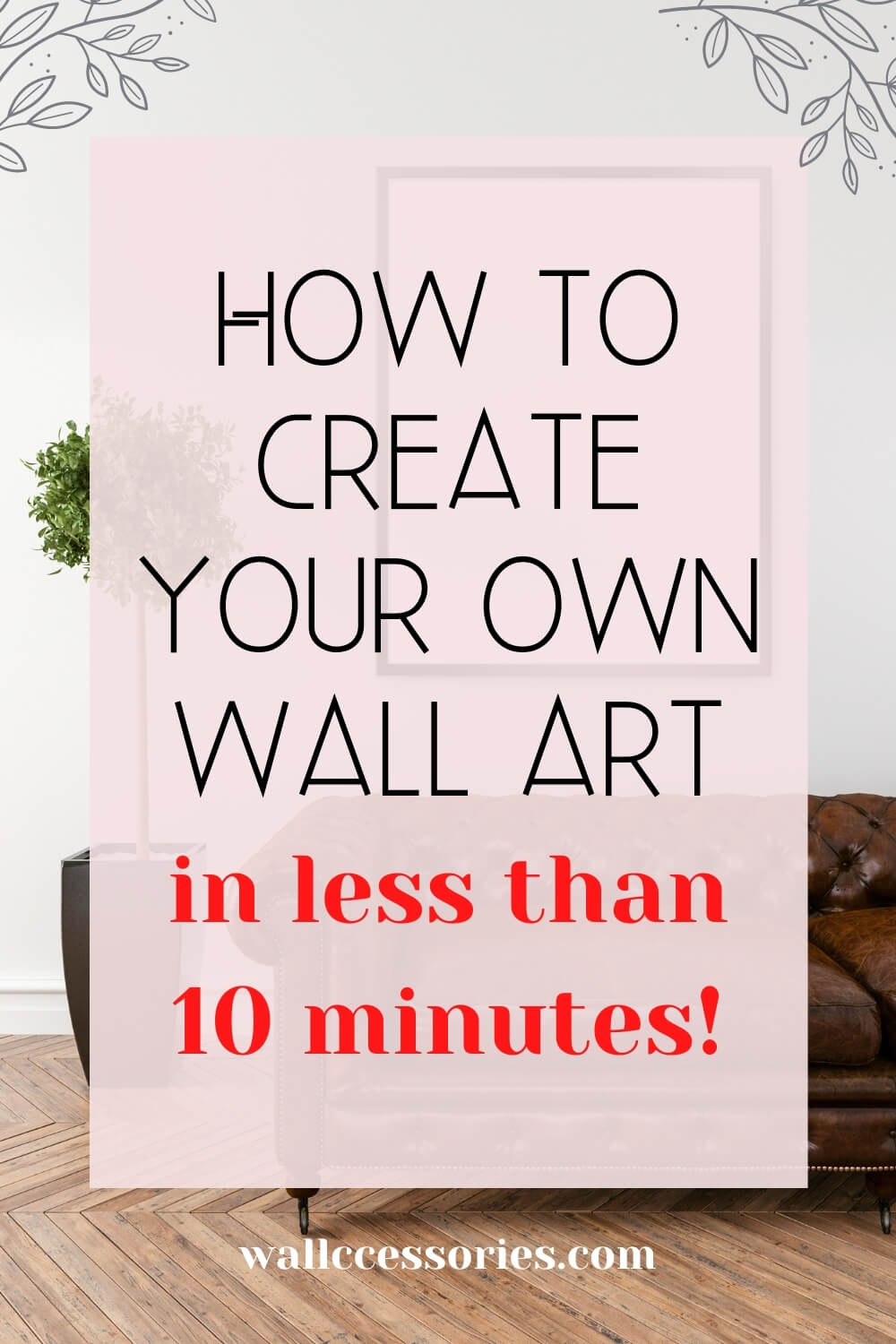 how to create your own wall art pinterest