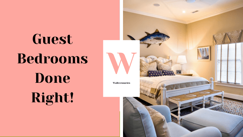 how to decorate a guest bedroom featured image