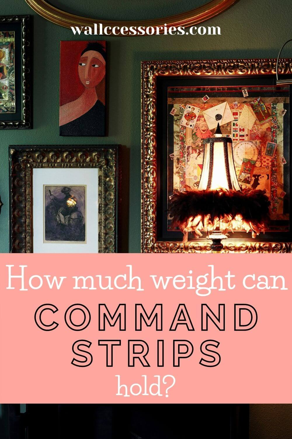 how strong are command strips pinterest