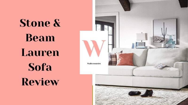 Stone and Beam Lauren Down Filled Oversized Sofa Couch Review featured image