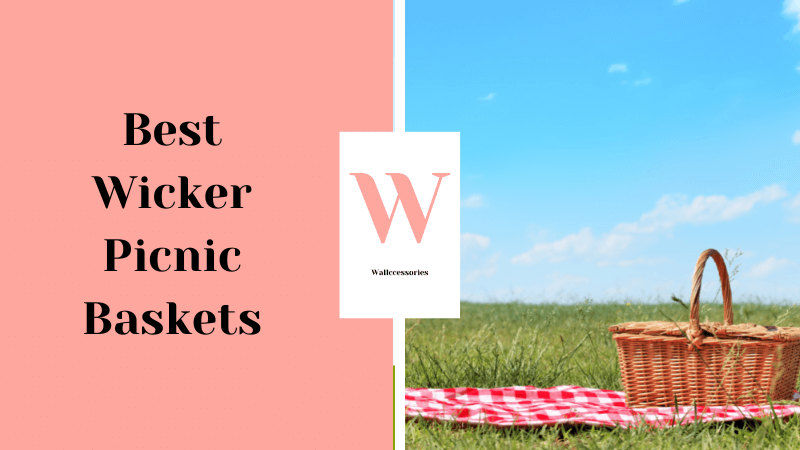 best wicker picnic baskets featured image
