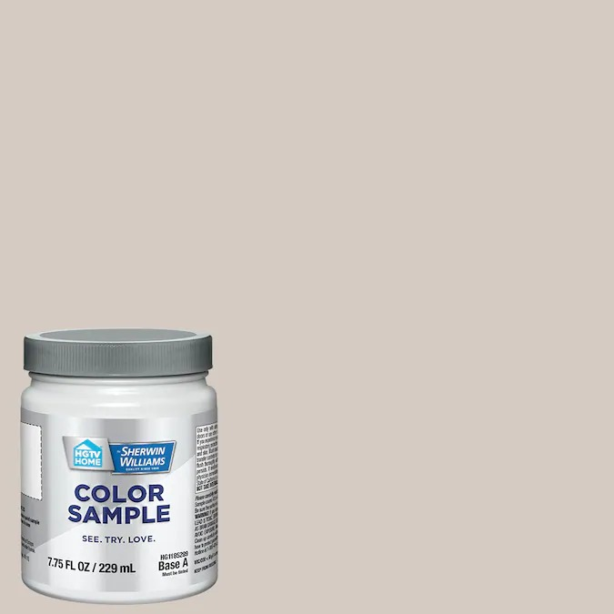 hgtv home sherwin williams ghost pines color sample